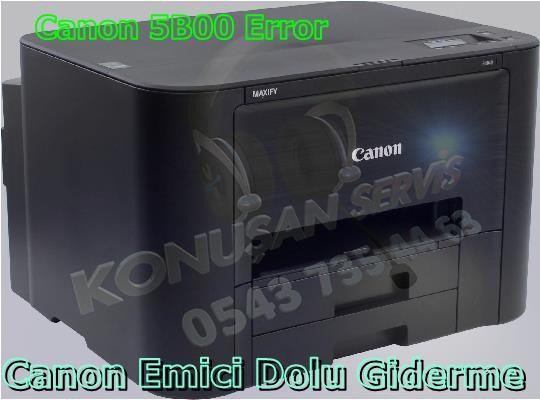 Canon MAXIFY İB-4040 Reset Programı