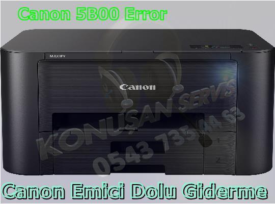 Canon MAXIFY İB-4050 Reset Programı