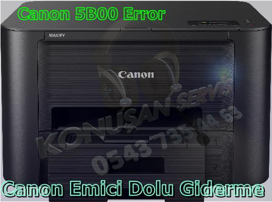 Canon MAXIFY İB-4150 Reset Programı
