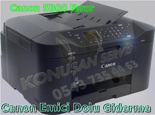 Canon MAXIFY MB-2040 Reset Programı