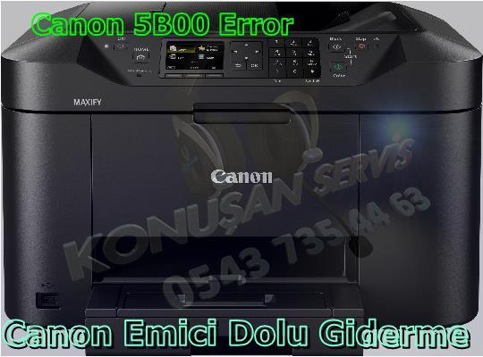 Canon MAXIFY MB-2155 Reset Programı
