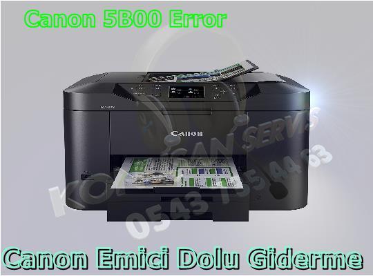 Canon MAXIFY MB-2350 Reset Programı