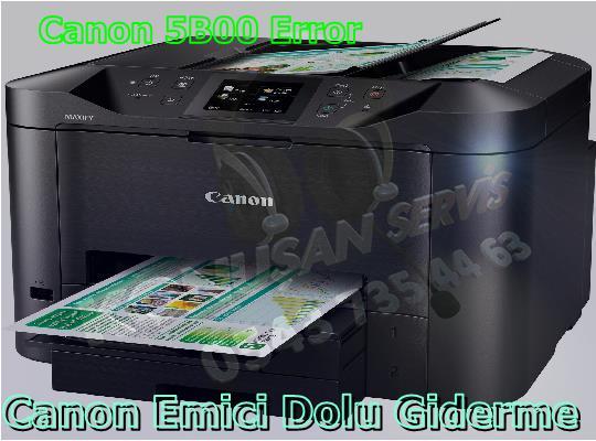 Canon MAXIFY MB-5050 Reset Programı