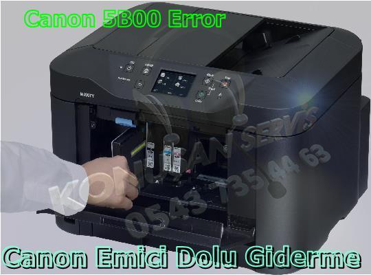 Canon MAXIFY MB-5350 Reset Programı