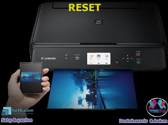 Canon TS-5040 Reset Programı