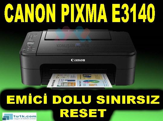 Canon PIXMA E31405 B02 Hata Kodu Emici Dolu Hatası Gireme