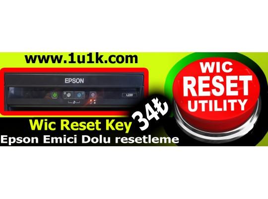 Epson Wic Reset Key 40 ₺