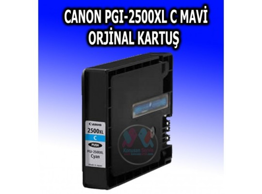 Canon cyan PGI-2500 orjinal Kartuş