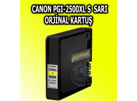 Canon Yelow PGI-2500 orjinal Kartuş