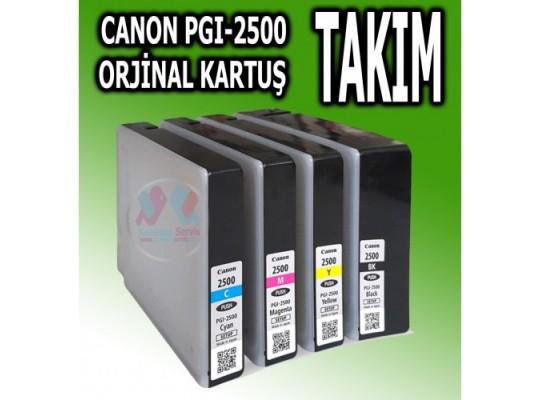 Canon PGI-2500  Orjinal Kartuş Takım %64  İNDİRİM